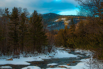Photograph - Swift River Ambiance by Brenda Jacobs