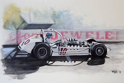 Acrylic Painting - Swift Super by William Walts