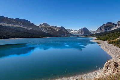 Photograph - Swiftcurrent Lake  by Robert Bales