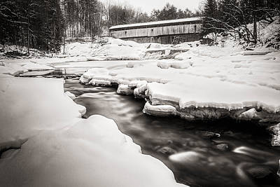 Photograph - Swiftwater Bridge by Robert Clifford