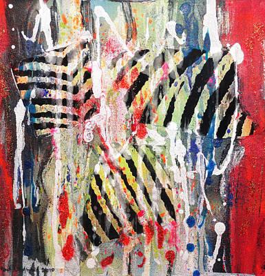 Painting - Swim Like A Fish II by Yael VanGruber