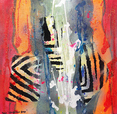 Painting - Swim Like A Fish by Yael VanGruber