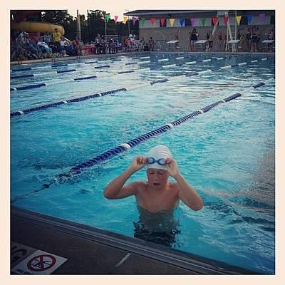 Freestyle Photograph - #swim #meet #cousin #race #freestyle by Megan Batrez