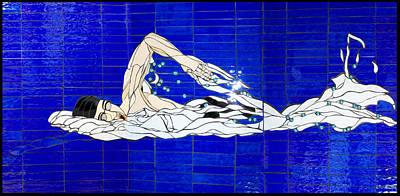 Swimmer Art Print by Kimber Thompson