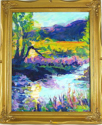 Painting - Swimming Hole 2 by Les Leffingwell