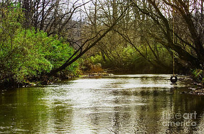Photograph - Swimming Hole 2 by Michael Waters