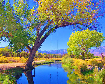 Owens River Photograph - Swimming Hole by Marilyn Diaz