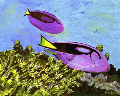 Painting - Swimmingly by Jamie Frier
