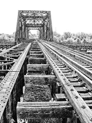 Photograph - Swing Bridge 2 by The Art of Marsha Charlebois