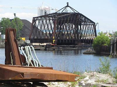 Photograph - Swing Bridge 3 by Anita Burgermeister