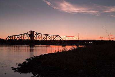Manitoulin Photograph - Swing Bridge by Patrick Flaherty