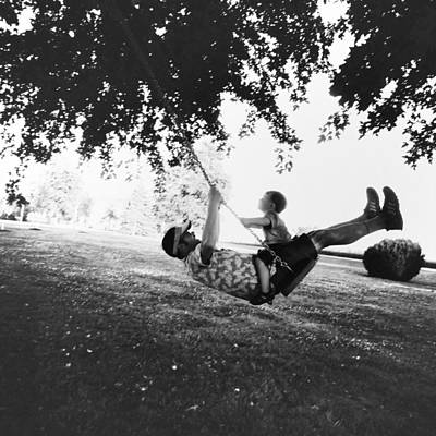 Father And Son Photograph - Swing High Sweet Chariot by Natasha Marco