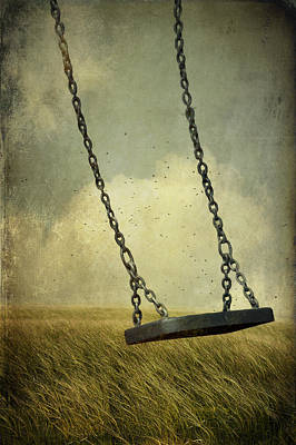 Photograph - Swing In Summer Field by Ethiriel  Photography