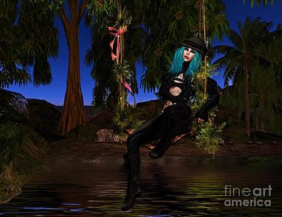 Digital Art - Swing N Time by Georgina Hannay