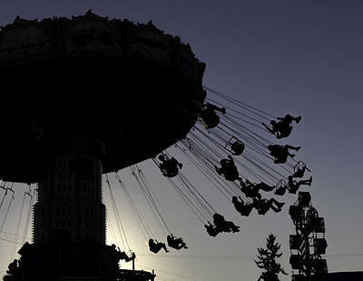 Photograph - Swing Silhouette by Bob Noble Photography