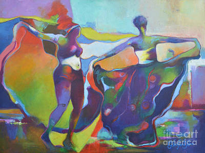 Painting - Swing To The Rhythm  by Glenford John