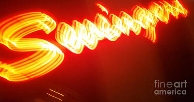 Painting - Swingers Neon Sign by Gregory Dyer