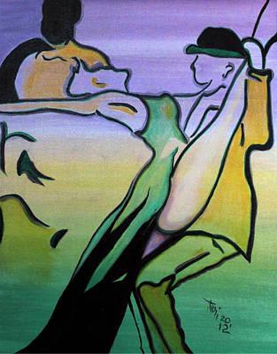 Swingin Art Print by Teri Howard Stewart