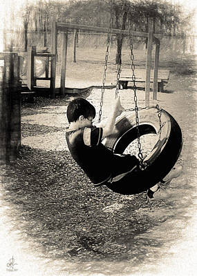 Photograph - Swinging Away by Pennie  McCracken