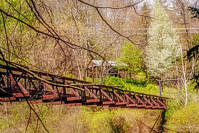 Photograph - Swinging Bridge by Darlene Bell