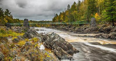 Cooke Photograph - Swinging Bridge by Paul Freidlund