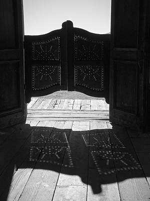 Photograph - Swinging Doors by Lucinda Walter