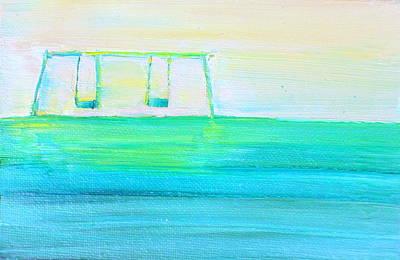 Swing Painting - Swings by Fabrizio Cassetta