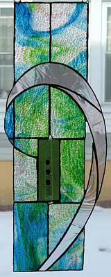 Glass Art - Swirl by Karin Thue