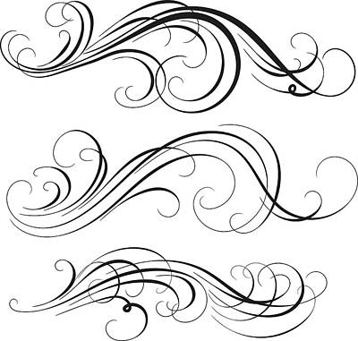 Swirl Art Print by Mashuk
