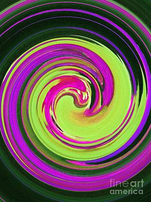 Painting - Swirl Swirl Swirl Abstract by Saundra Myles