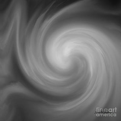 Gordan Digital Art - Swirl Wave I by David Gordon