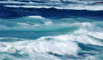 Photograph - Swirling Blues by Donna Blackhall