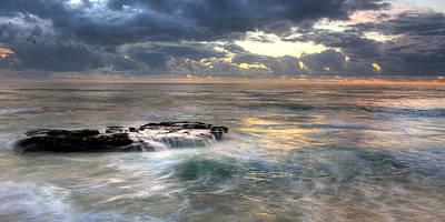 Swirling Seas Art Print by Peter Tellone