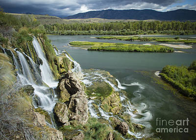 Photograph - Swirling Waters by Idaho Scenic Images Linda Lantzy