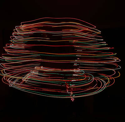 Photograph - Swirling With Light by Cathie Douglas