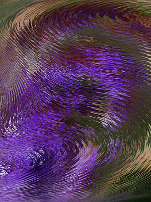 Digital Art - Swirls Of Life 4 by Ernie Echols