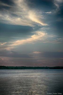 Photograph - Swirly Clouds by Michaela Preston