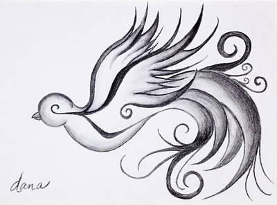 Swirly Sparrow Original