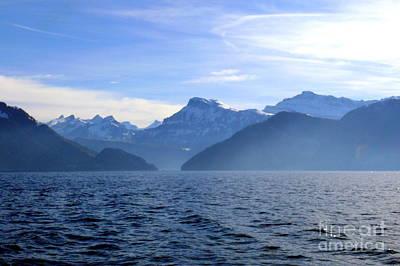 Lake Photograph - Swiss Alps 2 by Amanda Mohler
