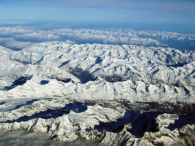 Photograph - Swiss Alps by Ellen Henneke