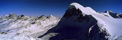 Swiss Alps From Klein Matterhorn Art Print