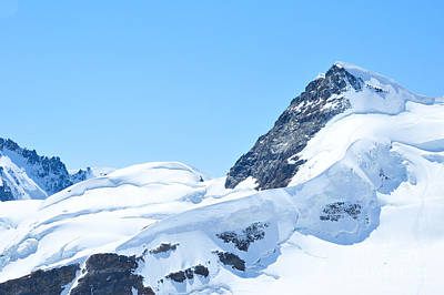 Swiss Alps Art Print by Joe  Ng