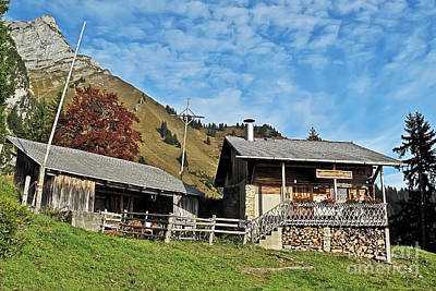 Photograph - Swiss Cabin by Elvis Vaughn