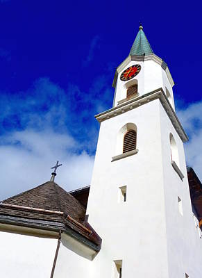 Photograph - Swiss Church by Valentino Visentini