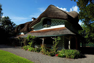 Arts And Crafts Movement Photograph - Swiss Cottage - Cottage Orness Built by Panoramic Images