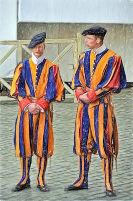 Photograph - Swiss Guard by Bill Howard