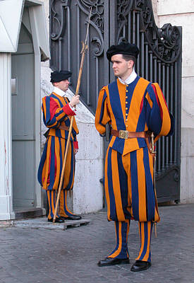 Photograph - Swiss Guard by Michael Kirk
