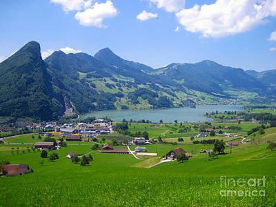 Mountain Photograph - Swiss Landscape by Amanda Mohler