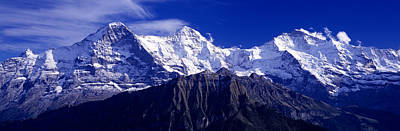 Magnificent Mountain Image Photograph - Swiss Mountains, Berner, Oberland by Panoramic Images