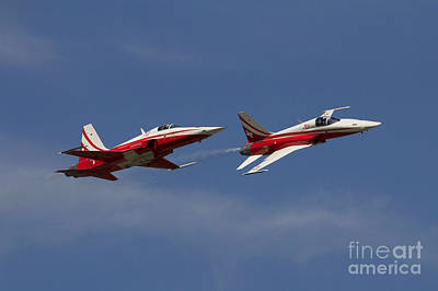 F5 Photograph - Swiss Pair by J Biggadike